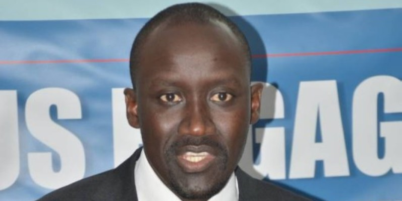 Abdourahmane Cissé, ministre du Pétrole, de l'Énergie et des Énergies renouvelables. (Julien MONSAN)
