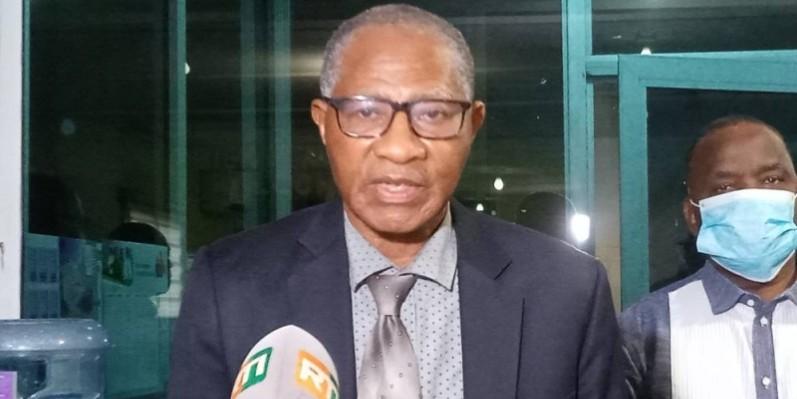 Jules Diakité Issa, président du Conareci, a exhorté les seniors à la plus grande discipline face à la menace du coronavirus. (DR)