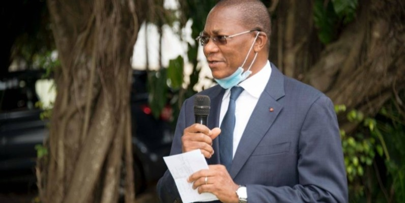 Le ministre Bruno Koné Nabagné de la construction et de l'urbanisme (DR)