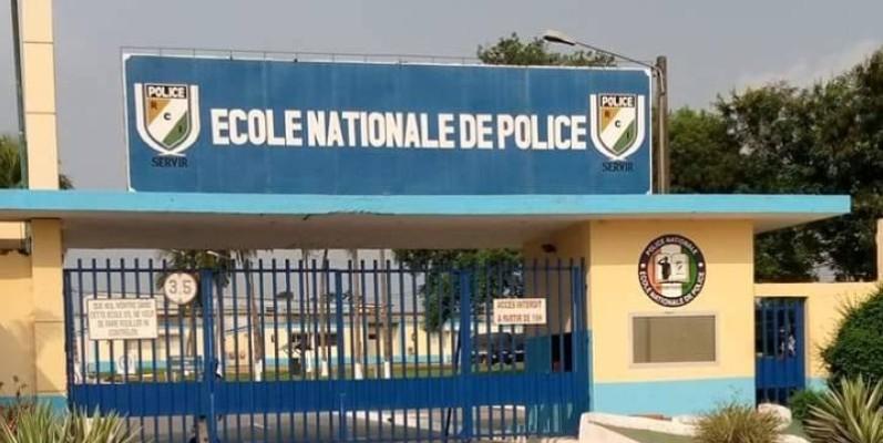 Une vue de l'École nationale de police d'Abidjan. (DR)