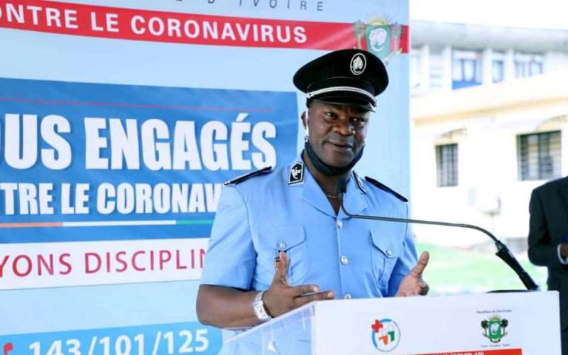 Le porte-parole de la police nationale Bleu Charlemagne (DR)