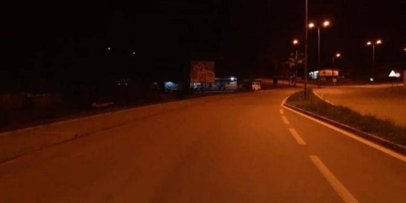 respect des mesures du-couvre-feu, une femme imagine une scène pour échapper à la police (DR)