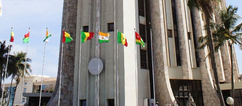Siège de la Bceao à Dakar au Sénégal