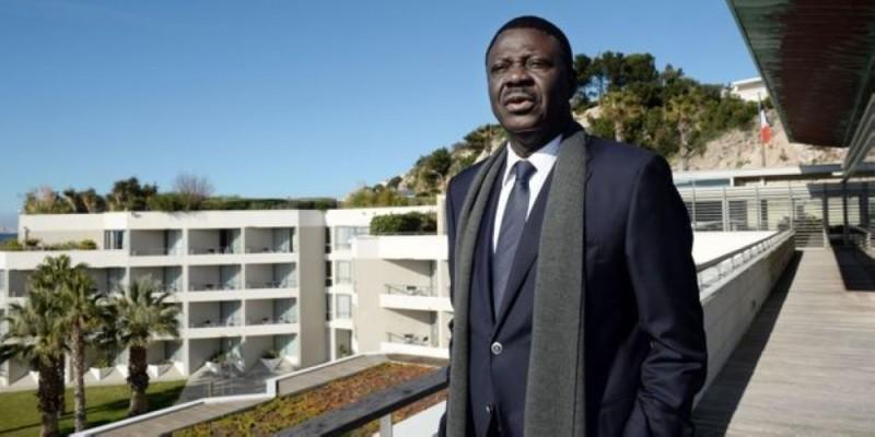 Pape Diouf, ancien président de l'Olympique de Marseille. (DR)