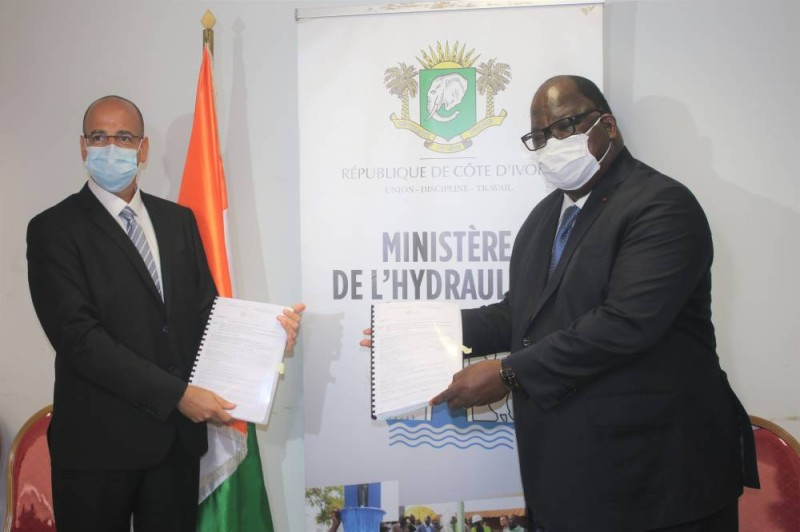 Le ministre Laurent Tchagba a signé, ce vendredi 3 mars 2020, avec  l'Entreprise Mitrelli Group Limited et Owini Inter