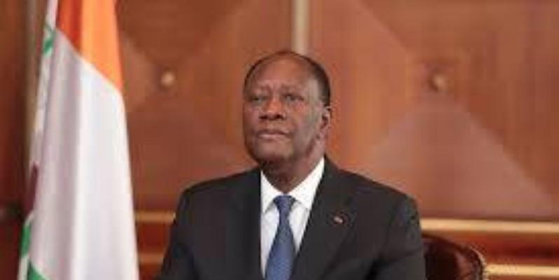 Alassane Ouattara, président de la République. (DR)