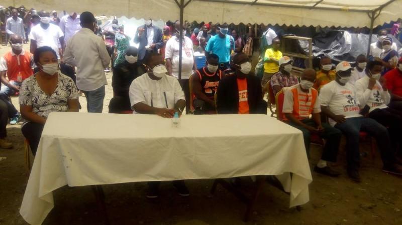 Sidiki Konaté invite à la responsabilité des ferrailleurs pour faire barrieère à la propagation du Covid-19 (Bavane)