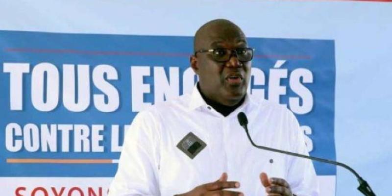 Le professeur Samba Mamadou, directeur général de la santé. (Dr)