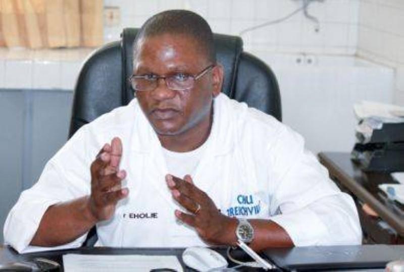 Professeur Paul Serge Eholié, chef de service des maladies infectieuses et tropicales du Chu de Treichville.