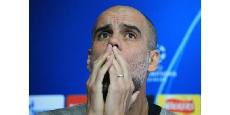 Pep Guardiola, entraîneur de Manchester City