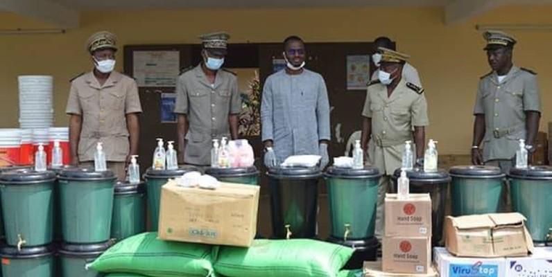 L'acte de solidarité des cadres et élus de la région du Bafing a été salué par les populations bénéficiaires. (DR)