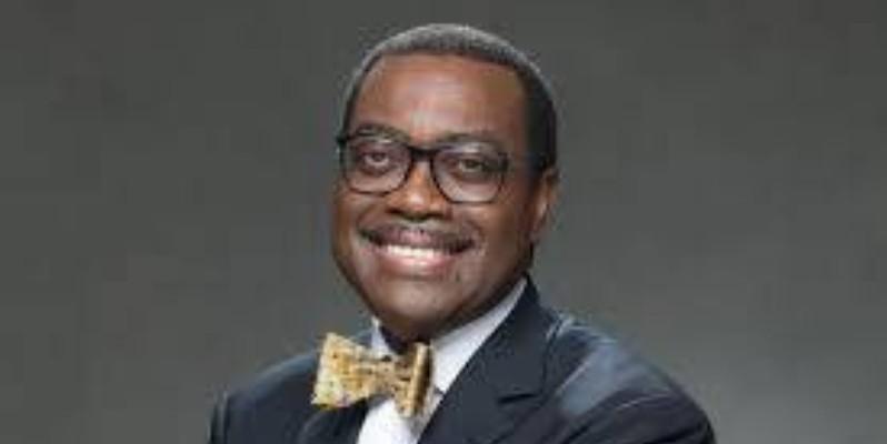 Akinwumi Adésina, président de la Banque africaine de développement.(DR)