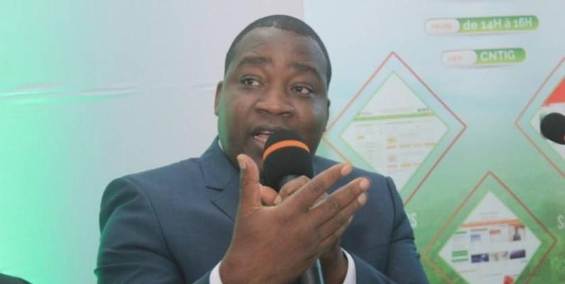 Le directeur général du Comité national de télédétection et d'information géographique (CNTIG), Dr Edouard Fonh-Gbéi.(DR)