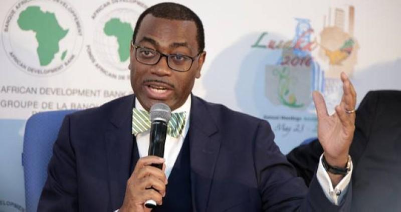Akinwumi A. Adesina, président de la Banque africaine de développement. (DR)