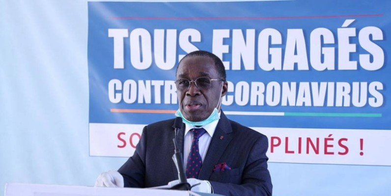 Dr Aka Aouélé, ministre ivoirien de la santé et de l'hygiène publique. (DR)