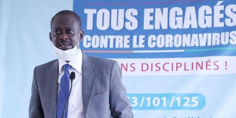 Adama Sall, directeur de cabinet du ministre auprès du Premier ministre, chargé du budget et du portefeuille de l'Etat. (DR)