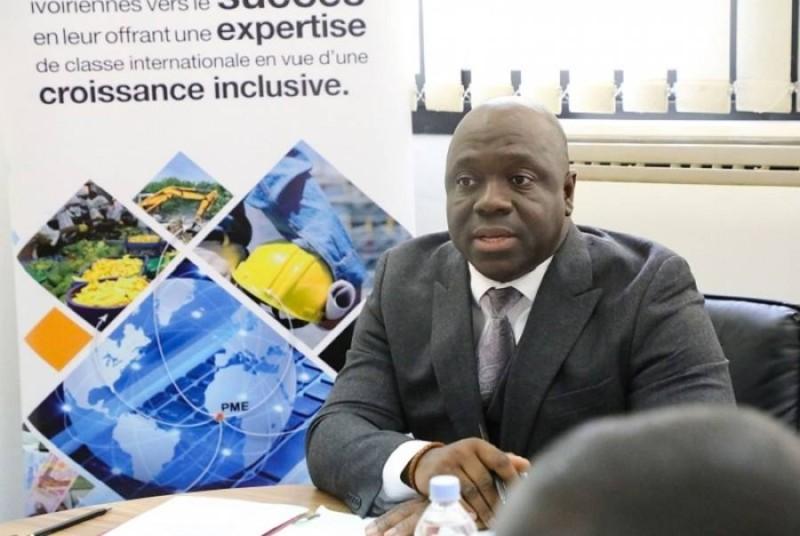 M. Salimou Bamba, Dg de l'Agence Côte d'Ivoire Pme