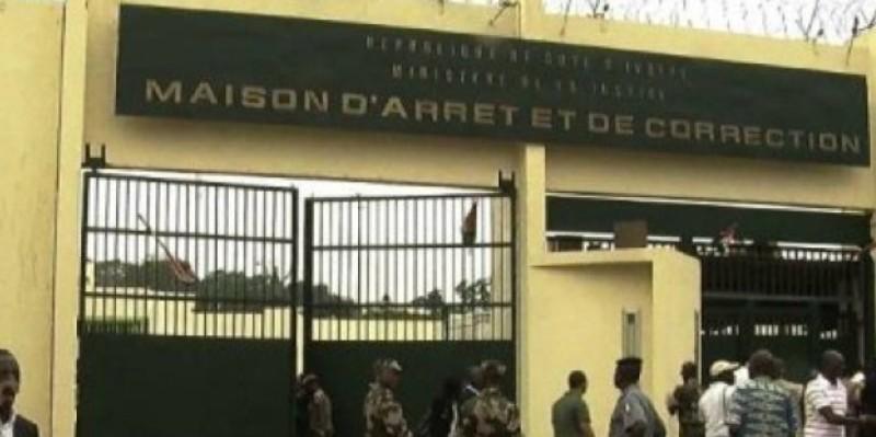 Une vue de la Maison d'arrêt et de correction d'Abidjan. (Dr)