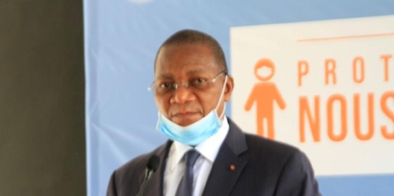 Bruno Koné, ministre de la Construction, du Logement et de l'Urbanisme.  (Sébastien Kouassi)