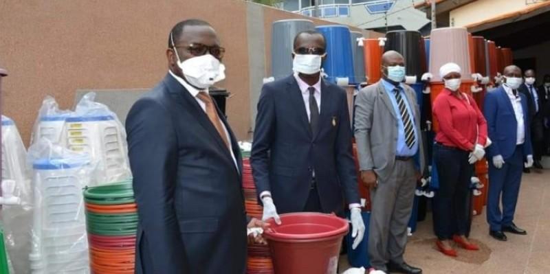 Le patron des Sports en Côte d'Ivoire fait de la lutte contre le coronavirus une priorité. (DR)