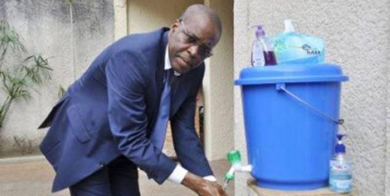 Bakary Sanogo, directeur du Cicg, montre l'exemple à ses collaborateurs. (DR)