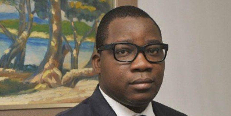 Le directeur général du Cntig, Édouard Fonh-Gbéi. (DR)