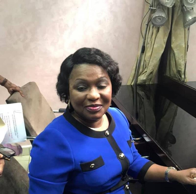 Mme Namizata Sangaré, présidente du Conseil national des Droits de l'homme (DR)
