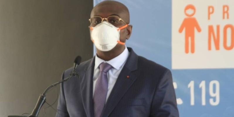 Félix Anoblé explique le soutien aux Pme. (Sébastien Kouassi)