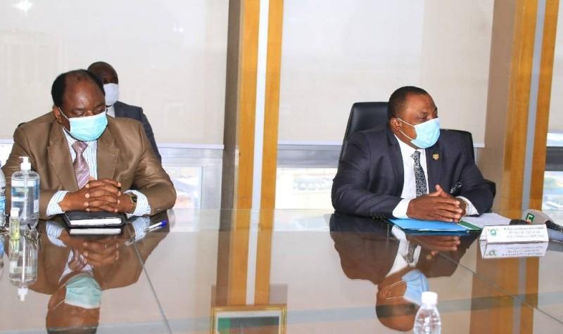 Le ministre Kobenan Kouassi Adjoumani a rassuré les producteurs et réaffirmé l'engagement du gouvernement à leurs côtés. (DR)