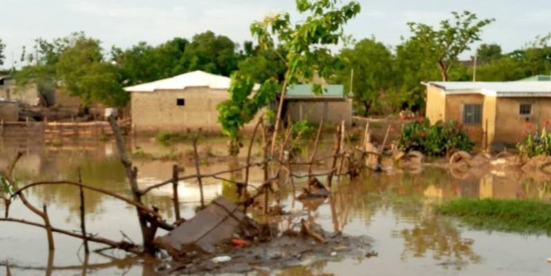 Des habitations sous des eaux. (DR)
