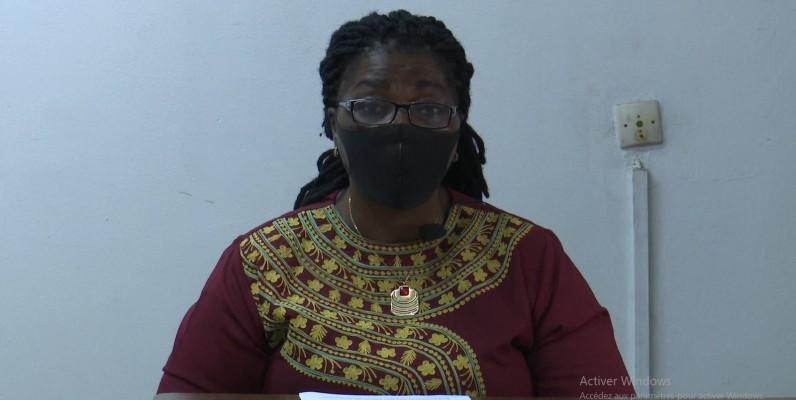 Mme Oulaï Philomène, Présidente de L'ordre des Sage-femmes et Maïeuticiens de Côte d'Ivoire. (DR)