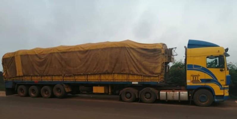 Une vue de l'un des camions. (DR)