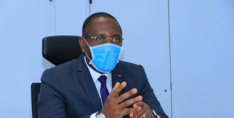 Souleymane Diarrassouba, ministre du commerce et de l'industrie. (DR)