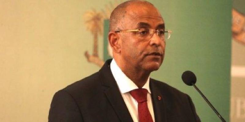 Le Secrétaire général de la Présidence de la République, Patrick Achi. (Dr)