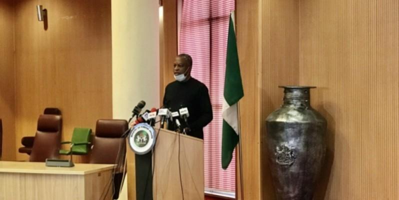 Le ministre des Affaires étrangères du Nigeria, Geoffrey Onyeama. (Photo: DR)