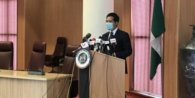 L'ambassadeur de Chine au Nigeria, Dr Zhou Pingjian. (Photo : DR)