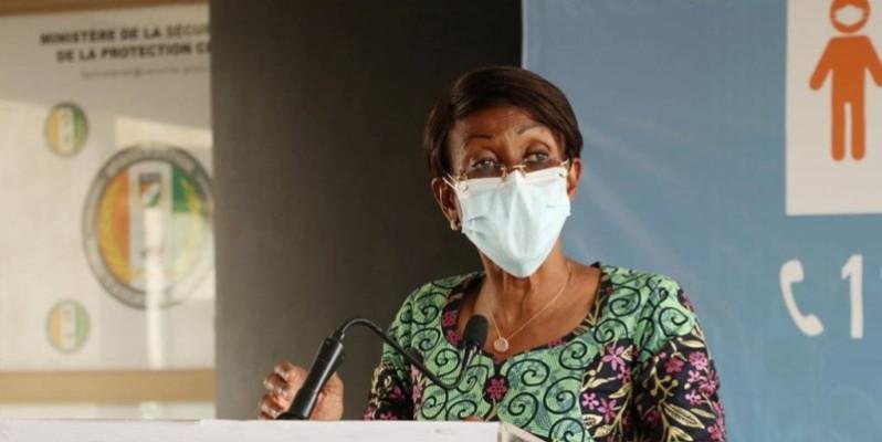 Ramata Ly-Bakayoko, ministre de la femme, de la famille et de l'enfant. (DR)