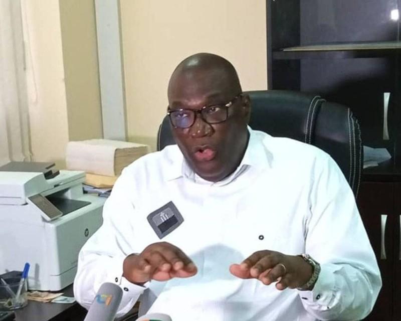 Professeur Mamadou Samba, directeur général de la santé
