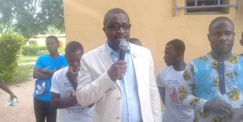 Le député Thierry Tailly a appelé les populations de Kahin au calme. (DR)