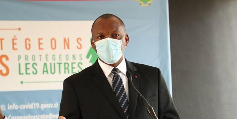 Le ministre Touré Mamadou. (DR)