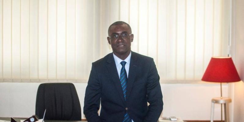 Parfait Kouassi, président de la Brvm et du Dcbr et 1er vice-président de la Chambre de commerce et d'industrie de Côte d'Ivoire. (DR)