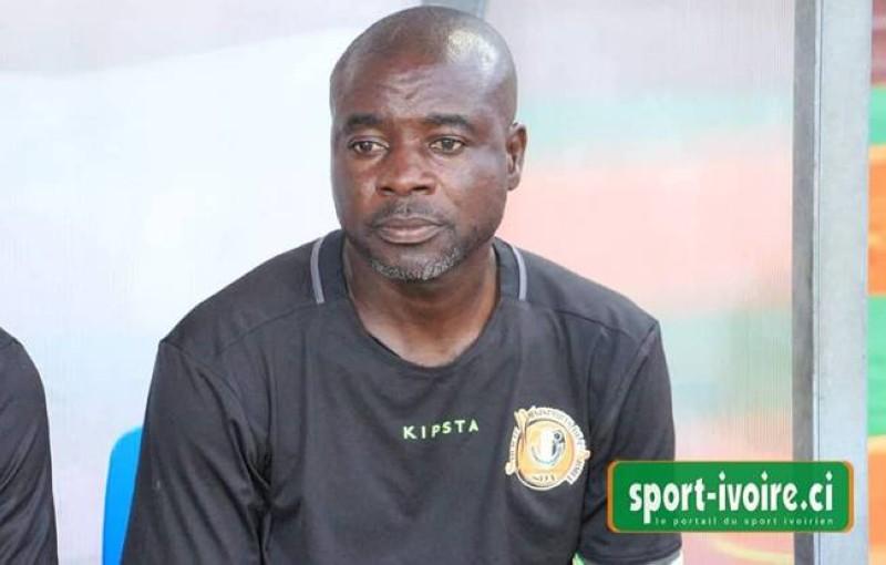 Aka Jean Baptiste, coach de l'As Tanda. (DR)