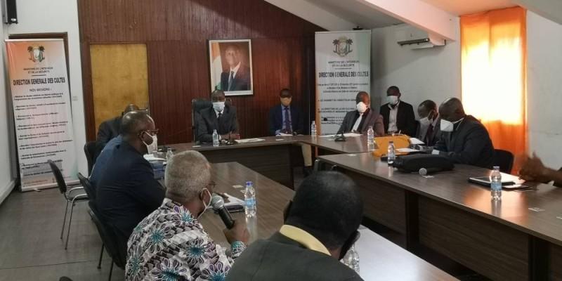 Le Dg des cultes a remercié les organisations chrétiennes pour les efforts consentis aux côtés du gouvernement depuis le début de la crise sanitaire. (DR)