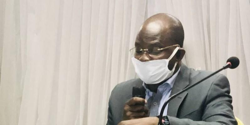 Dah Sansan, président de l'Urhdp, dénonce la décision de la Cour africaine des droits de l'homme et des peuples. (DR)