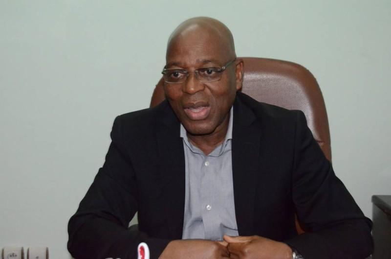 Sidibé Souleymane, président du Stade d'Abidjan. (DR)