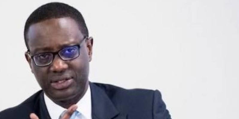 Tidjane Thiam a accordé une interview lundi à TV5 Monde. (Dr)