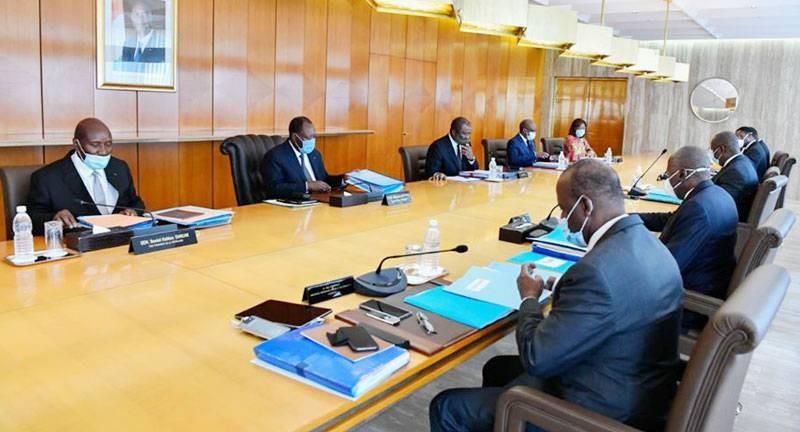 Une vue du Conseil des ministres. (DR)