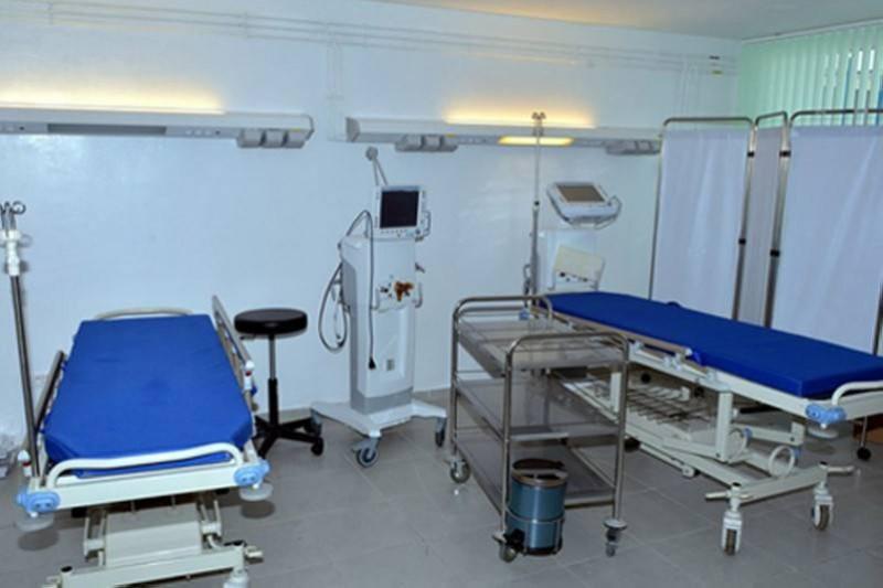 Hôpital ibn sina pour recevoir les contaminés. (DR)