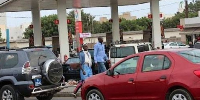 Une station-service à Abidjan. (Dr)