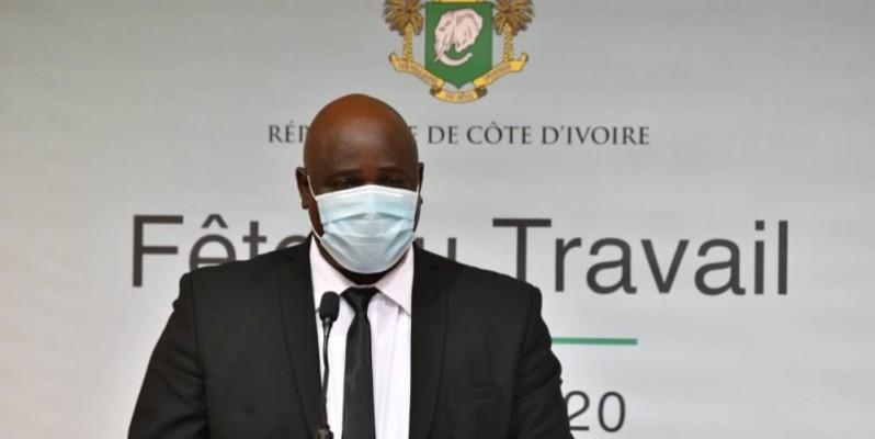 Mamadou Soro, Secrétaire général de la Centrale syndicale Humanisme. (DR)